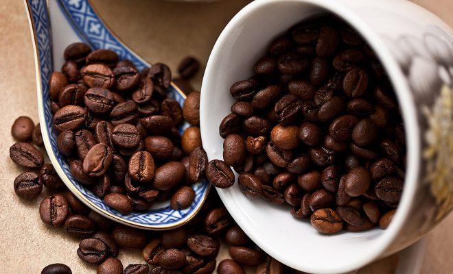 maschera fai da te al caffè